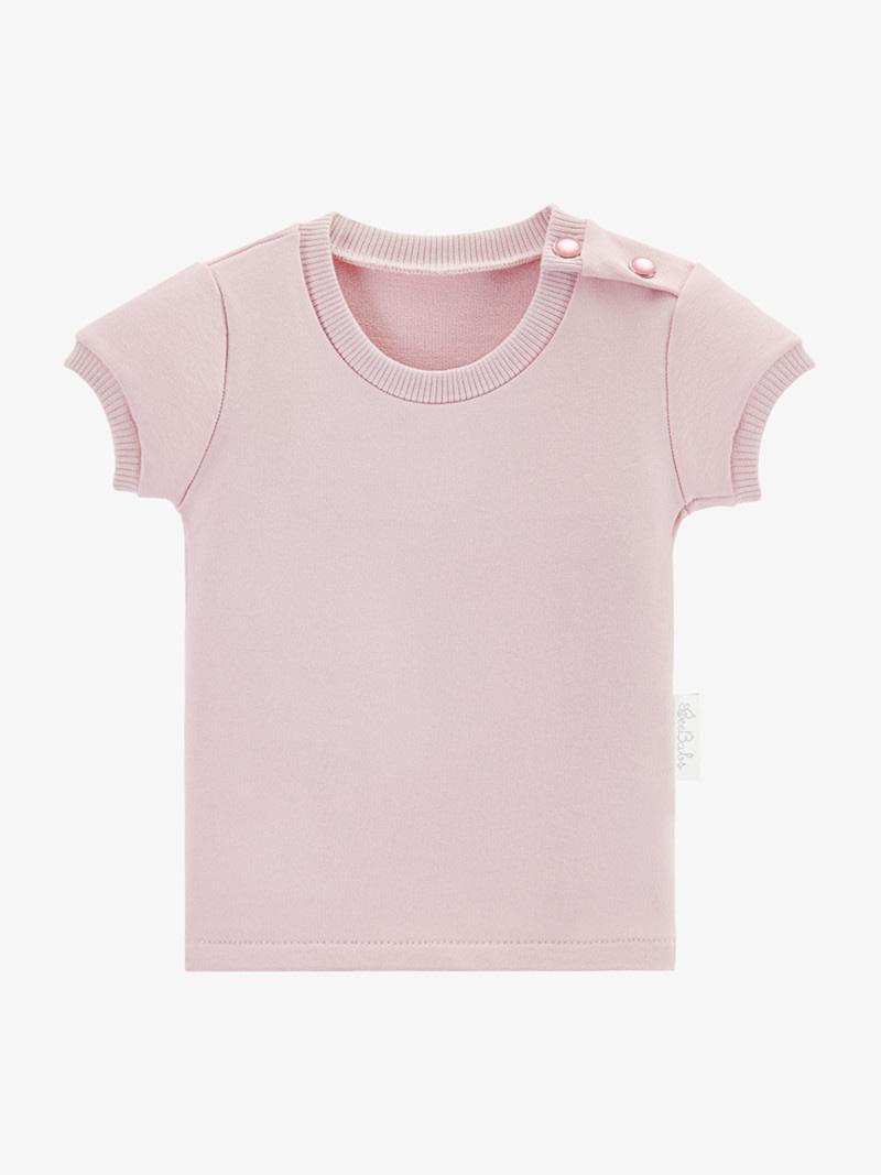 t-shirt basic wear - różowy
