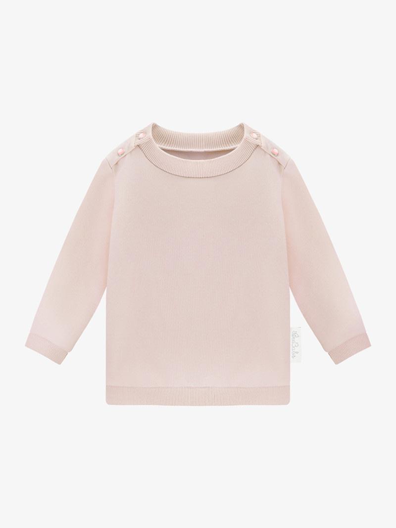 bluza basic wear - różowa