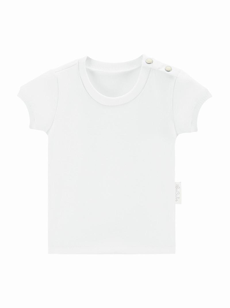 t-shirt basic wear - biały